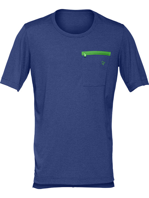 Norrøna fjørå equaliser lightweight T-Shirt Men Ocean Swell